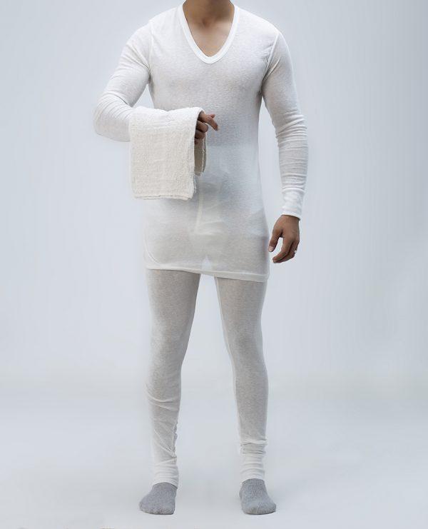 Kit Sous Vetement Coton Hiver Avec Serviette Epitex France